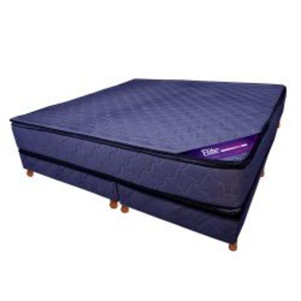 Oferta de Conjunto RESORTES - Pillow Top 200 X 200 azul por $95839