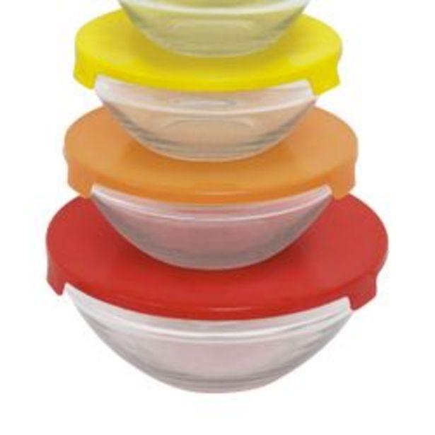 Oferta de Set de 5 bowls tapa mix Carol por $899