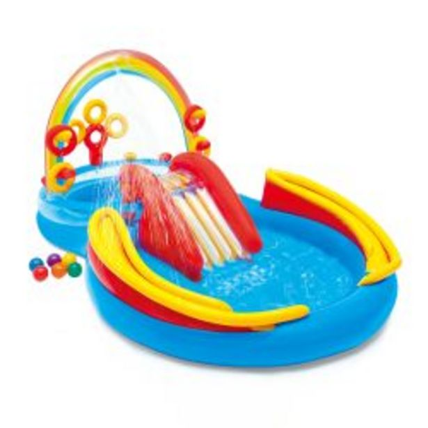 Oferta de Playcenter Inflable Intex Rainbow por $23391