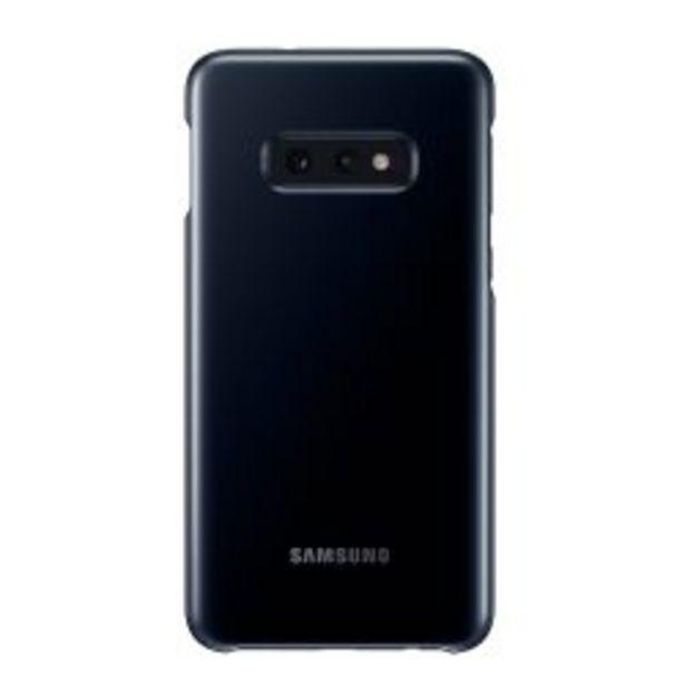 Oferta de Funda Samsung LED Back Cover S10e Black por $3199