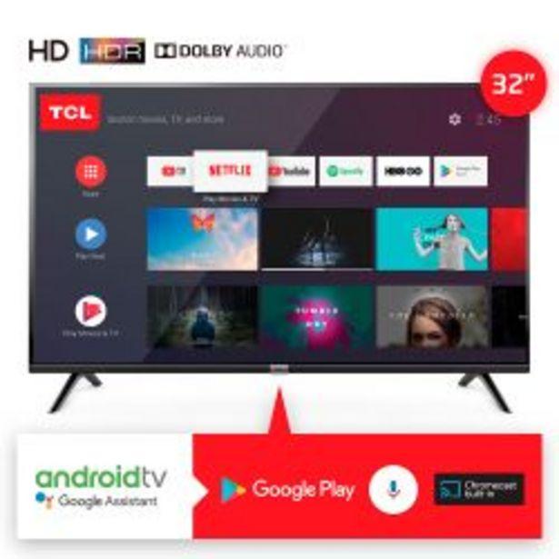 """Oferta de Smart TV 32"""" HD TCL L32S6500 por $26999"""