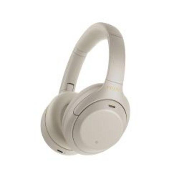 Oferta de Auriculares inalambricos Sony WH 1000XM4 color gris plata por $39999