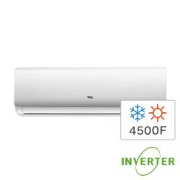 Oferta de Aire Acondicionado Split Frío/Calor Inverter TCL TACA-5300 FCSA 4500F 5300W por $79999