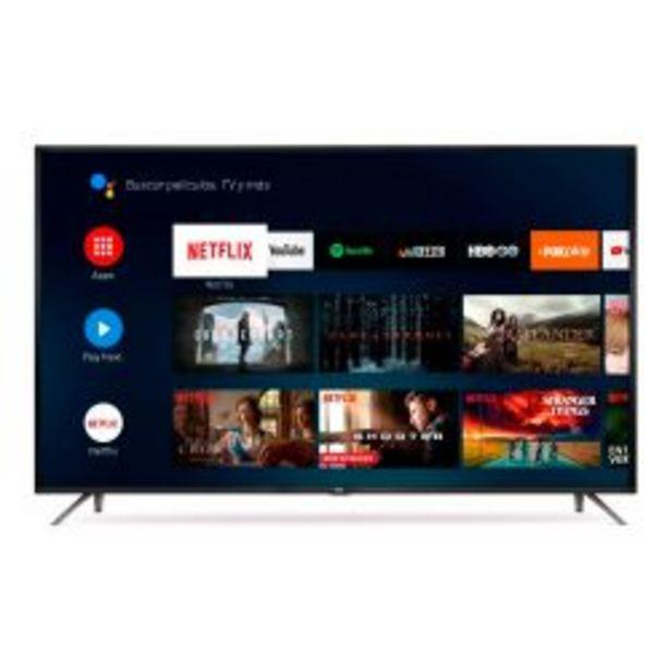 """Oferta de Smart TV 50"""" 4K UHD RCA X50ANDTV por $48999"""