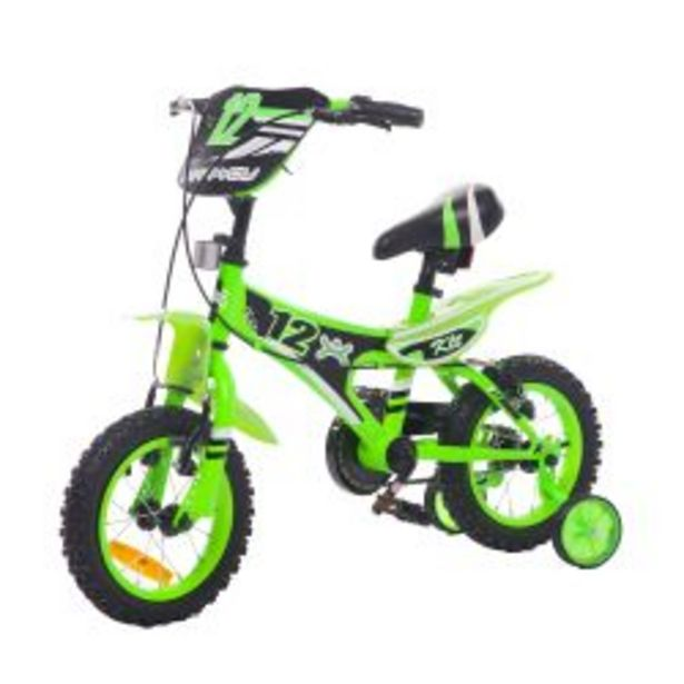 Oferta de Bicicleta rodado 12 MAX YOU BOY PRO Verde por $17499