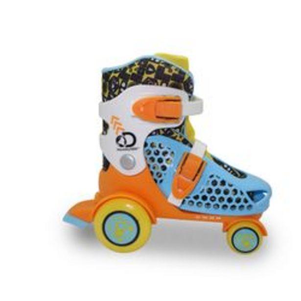 Oferta de RollersPara Niños Jeico 4 Ruedas Naranja 27-30 por $2499