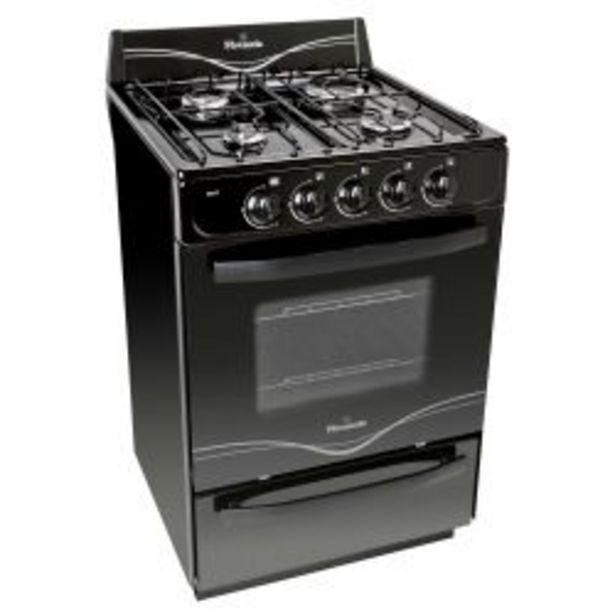 Oferta de Cocina Florencia 5517F Negra 56cm por $27999