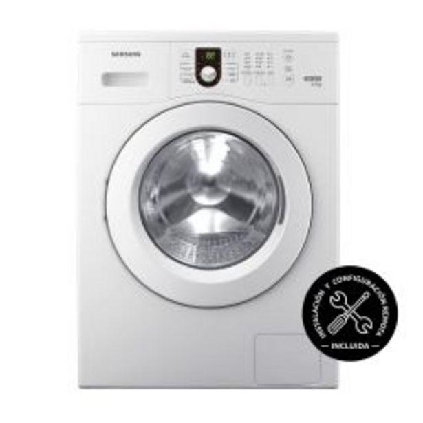 Oferta de Lavarropas Carga Frontal Samsung 6.5 Kg 1000 RPM WW65M0NHWU Blanco por $47499