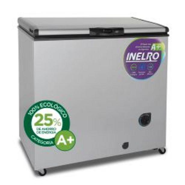 Oferta de Freezer Inelro FIH-270P+ 215 Lt Gris Plata por $54999