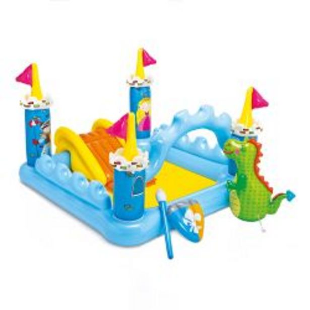 Oferta de Pileta Castillo Playcenter Inflable Intex por $13178