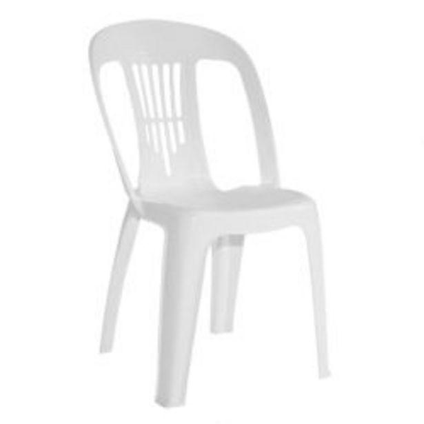 Oferta de Combo Sillas de Plástico Antonella x 6 Color Blanco por $11759