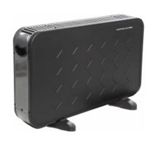 Oferta de Panel calefactor con termostato negro por $6499
