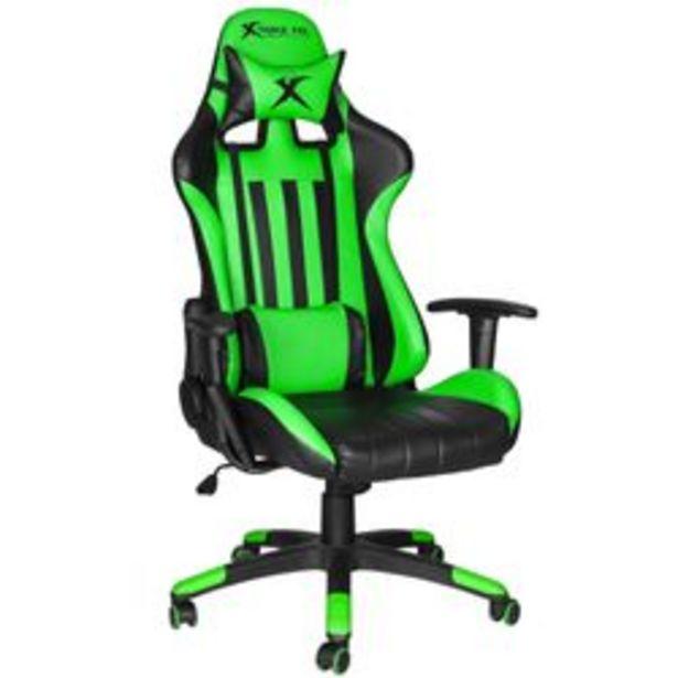 Oferta de Silla Gamer Xtrike Me GC-905 GN Verde y Negro por $39999