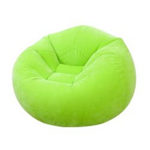 Oferta de Sillón Inflable Intex Bag Chair Verde por $5865
