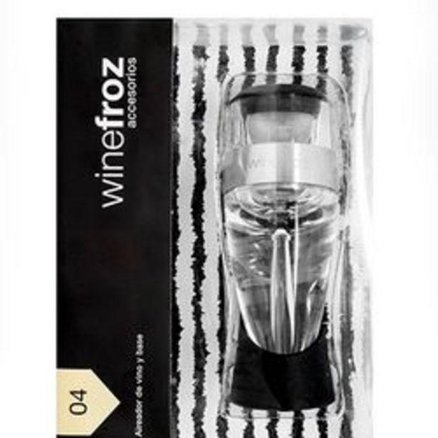 Oferta de Set Winefroz Aireador de Vino por $4100