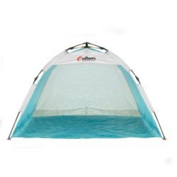 Oferta de Carpa Playera Autoarmable 2 Personas Outdoors 9001 Beach Summer Celeste por $4550
