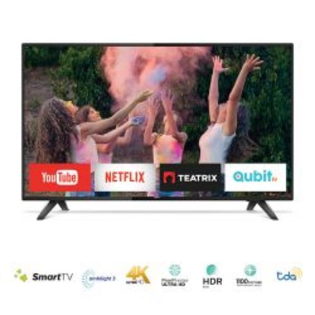 "Oferta de Smart TV 43"" Full HD Philips 43PFG5813/77 por $39999"