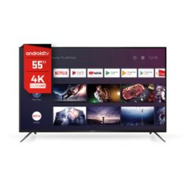 "Oferta de Smart TV 55"" 4K UHD Hitachi 554KS20 por $63999"