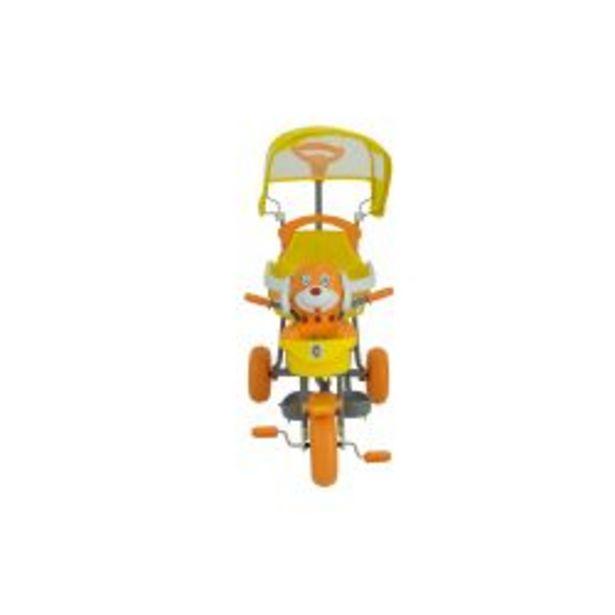 Oferta de Triciclo Bebitos XG 3412EA Perro Amarillo por $7699