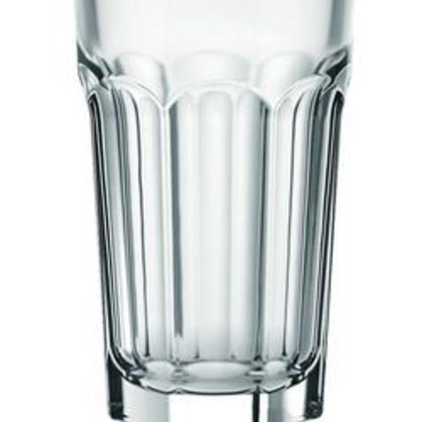 Oferta de Vasos de vidrio Oslo x 6 Rogolleau por $999