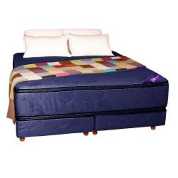 Oferta de Conjunto RESORTES - Pillow top Suavidad 200 X 200 azul por $109239
