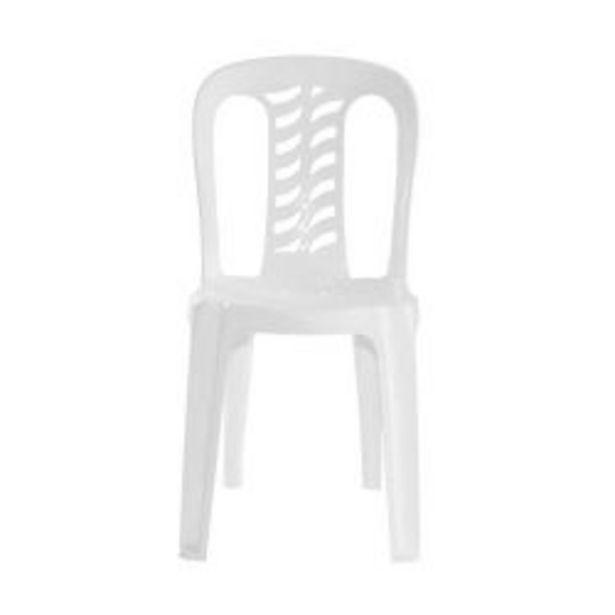 Oferta de Combo de Sillas de Plástico Bistró x 6 Color Blanco por $10299
