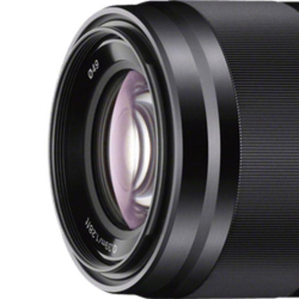 Oferta de Lente Objetivo Sony 50MM F1.8 SEL50F18 Aps-c Montura E por $38999
