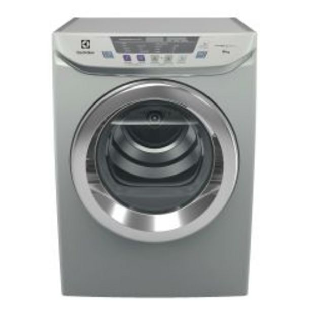 Oferta de Secarropas por Calor Inverter Electrolux 8 KG ESES8 Silver por $52399
