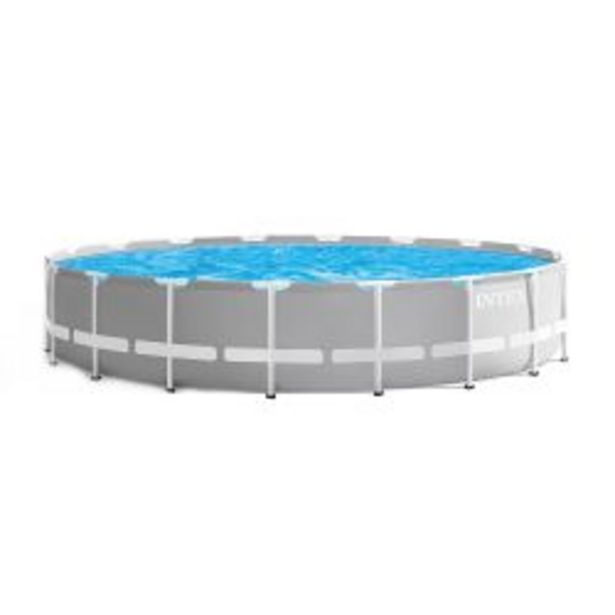 Oferta de Pileta Estructural Redonda Intex 549 x 122 cm 24311 lts por $101009