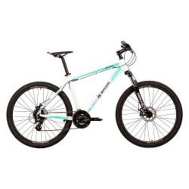 """Oferta de Bicicleta Mountain Bike Rodado 27,5"""" Talle M Motomel Blanca y Turquesa por $69999"""