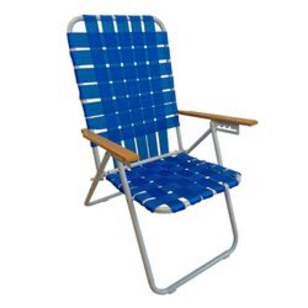 Oferta de Reposera Plegable Mosconi 5 Posiciones Azul por $3930