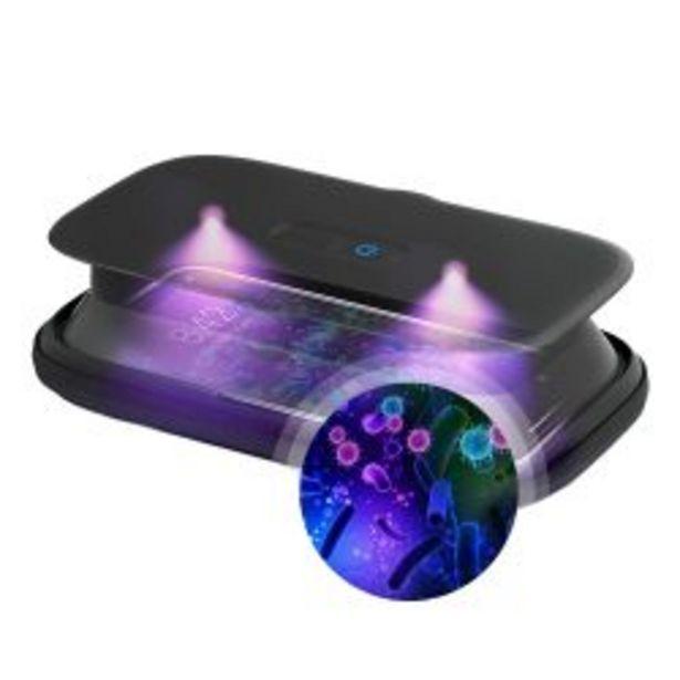 Oferta de Desinfectante Sanitizante de Telefono y Articulos Homedics UV Clean por $6299