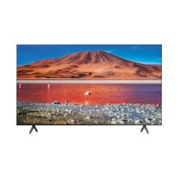 "Oferta de Smart TV 4K UHD Samsung 50"" UN50TU7000 por $58999"