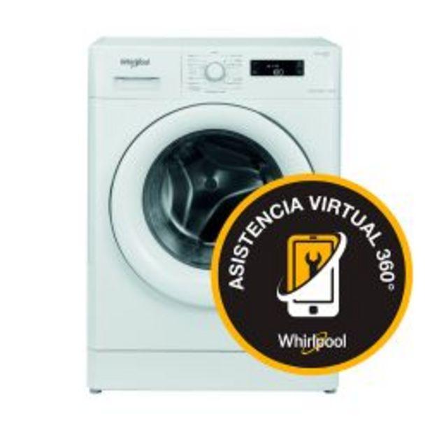 Oferta de Lavarropas Carga Frontal Sense Inverter Whirlpool 7,5Kg 1000 RPM WLF75A por $57699