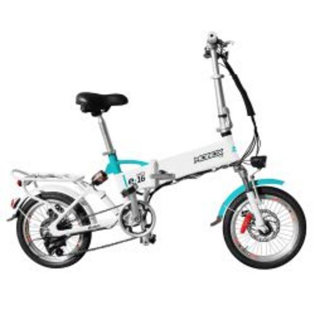 """Oferta de Bicicleta Eléctrica Rodado 16"""" Mobox Volt e-16 Blanca por $87799"""