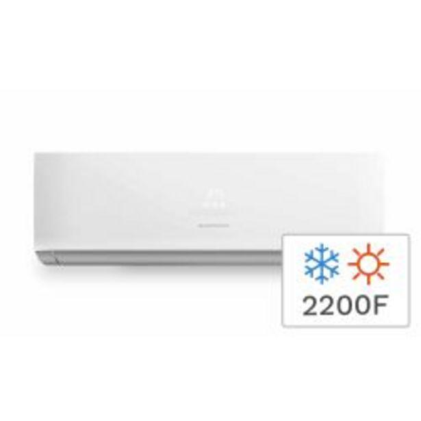 Oferta de Aire Acondicionado Split Frío Calor Kelvinator KEL2600FCH 2200F 2600W por $38999