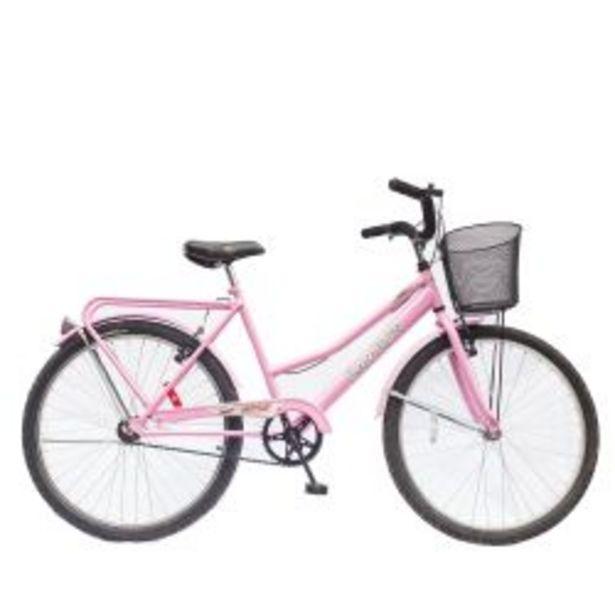 Oferta de Bicicleta de Paseo Rodado 26 Randers Terra Rosa por $35999
