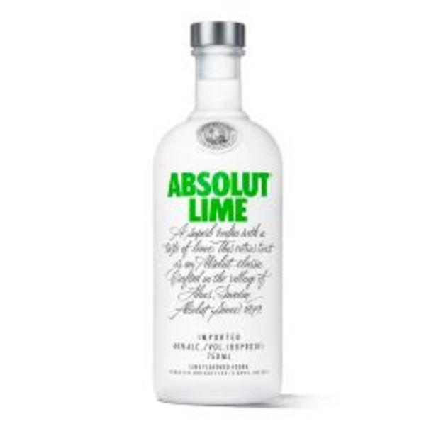Oferta de Vodka Absolut Lime por $1679