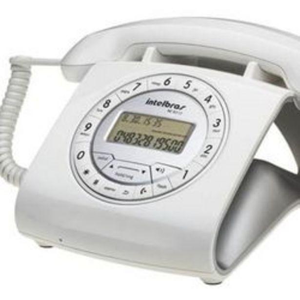 Oferta de Telefono Fijo INTELBRAS 8312 BC Blanco por $9499