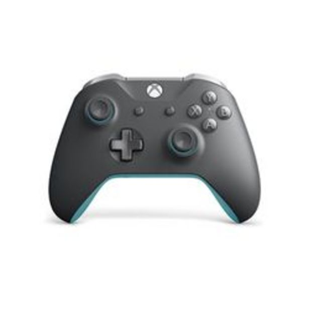 Oferta de Joystick Xbox One Wireless Azul.Gris por $11499