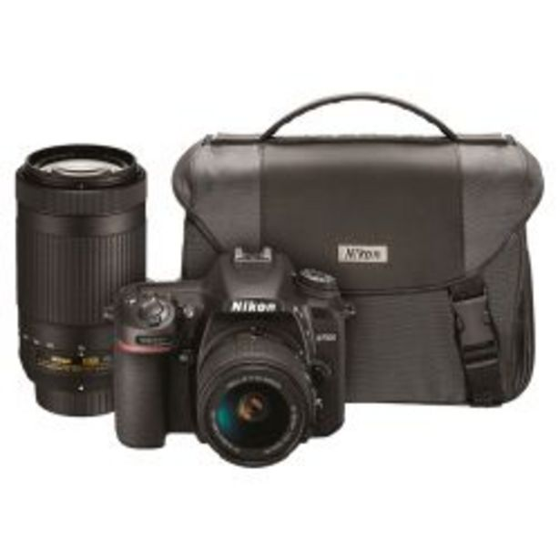 Oferta de Cámara Reflex Nikon D7500 DX 20.9MP Video 4K Super Kit por $179900