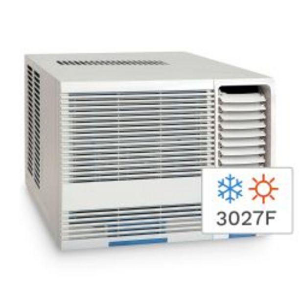 Oferta de Aire Acondicionado Ventana Frío/Calor Midea 3027F 3520W MQVE12R8F1 por $44999