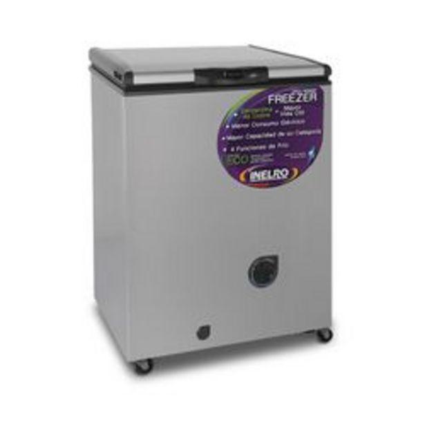 Oferta de Freezer Horizontal Inelro FIH130 135 Lts Gris Plata por $37999
