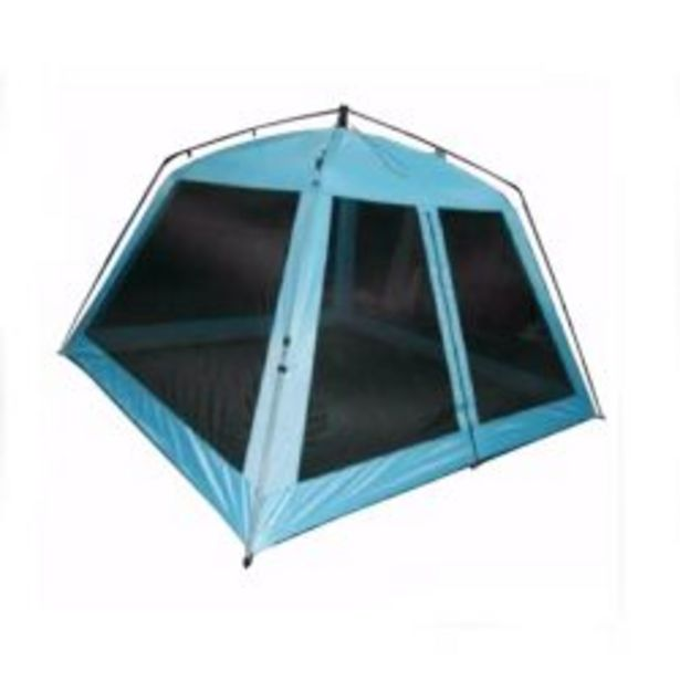 Oferta de Carpa Playera Autoarmable 5 Personas Outdoors 9009 Beach Castle Celeste por $17590