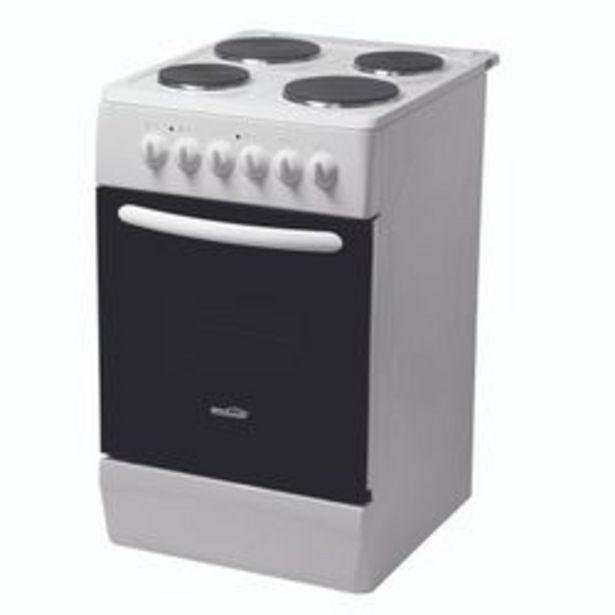 Oferta de Cocina Electrica Brolux 4 Hornallas Blanca por $50999