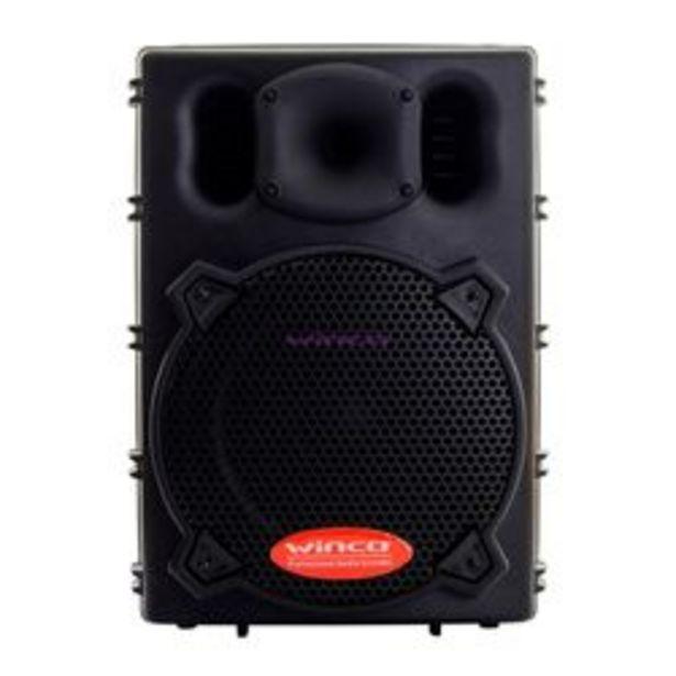 Oferta de Parlante Winco W210USB 400W 10 pulgadas Bluetooth por $22999
