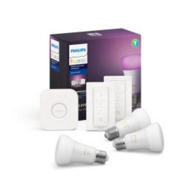 Oferta de Kit de Inicio Philips Hue White And Color Ambiance + 2 Switch por $16799