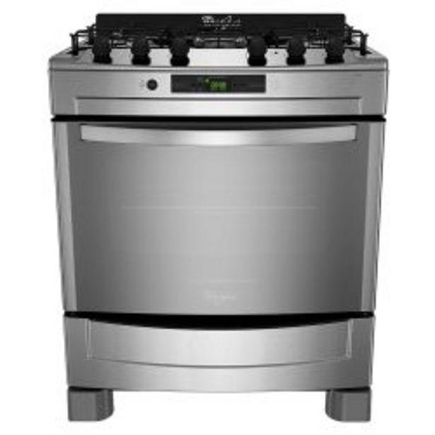 Oferta de Cocina Multigas Whirlpool WF876XG 76cm Inox por $109799