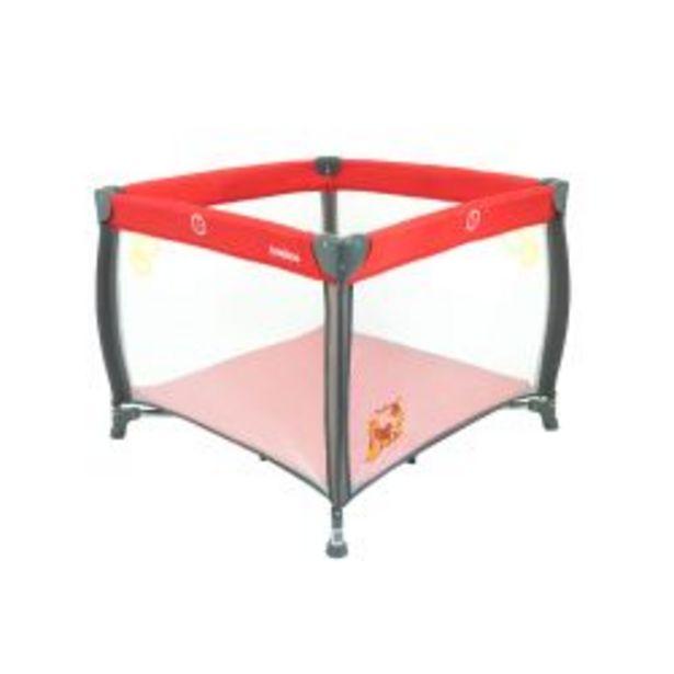 Oferta de Corralito Bebitos MB 18 Rezi Rojo por $9199