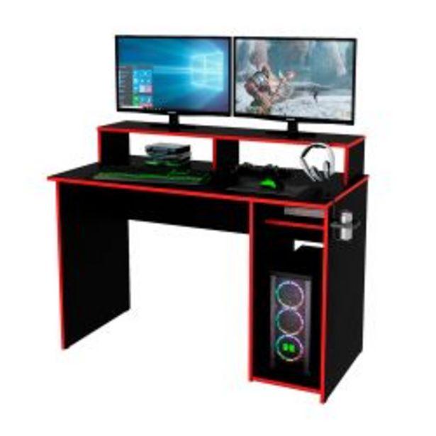 Oferta de Escritorio Gamer Centro Estant EG1R Negro y Rojo por $9999